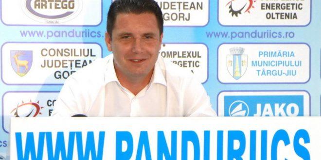 """Narcis Răducan: """"Mai am un an de contract cu Pandurii şi sper să-mi pun amprenta aici în continuarea mandatului meu!"""""""