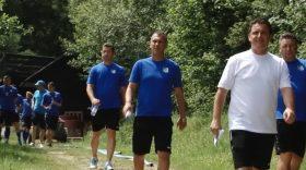 Program lejer pentru jucătorii echipei Pandurii în prima zi de cantonament la Maribor