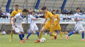 Pandurii Under 17 ani s-au calificat azi în finala Cupei României după ce au învins în deplasare, cu scorul de 4-1, CSU Craiova