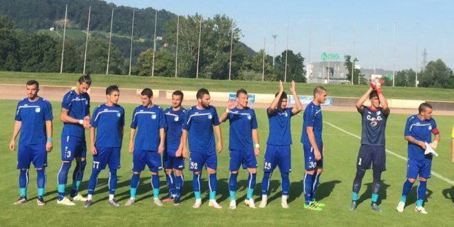 Pandurii Târgu Jiu s-a impus cu scorul de 4-2 în meciul amical disputat în această seară cu Steaua Roşie Belgrad