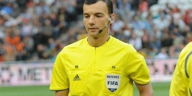 Brigadă de arbitri din Ucraina la meciul Pandurii Târgu Jiu – Maccabi Tel Aviv