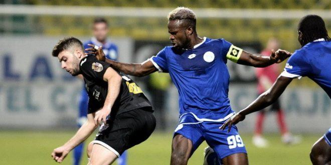 Christian Obodo a devenit jucătorul echipei Pandurii Târgu Jiu pentru un an
