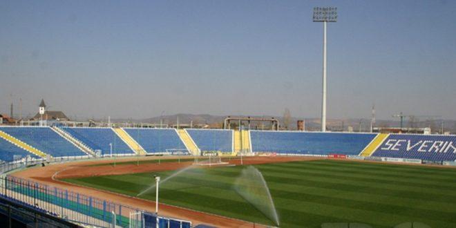 Clubul Pandurii Târgu Jiu, pregătit pentru a juca în turul trei al Europa League pe Stadionul Municipal din Severin