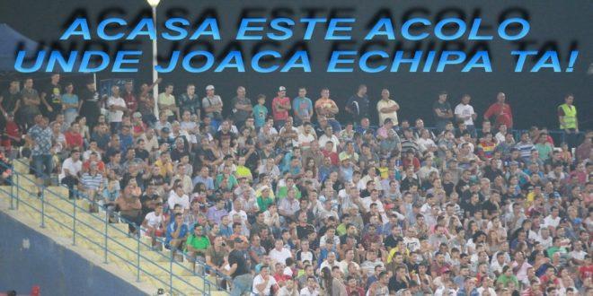 FOTO / IMAGINI  PANDURII TÂRGU JIU – MACCABI TEL AVIV: Mulţumiri spectatorilor care au fost prezenţi în tribune