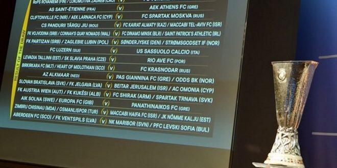 Pandurii Târgu Jiu va întâlni în turul trei Europa League învingătoarea din meciul  dintre Maccabi Tel-Aviv  și Kairat Almaty