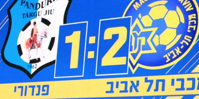 VIDEO / FINAL MECI MACCABI – PANDURII SCOR 2-1