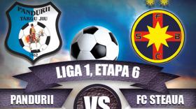 Biletele pentru meciul dintre Pandurii Târgu Jiu şi Steaua se pot procura începând de joi de la Târgu Jiu şi Severin