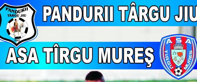 Biletele pentru meciul  din etapa a 8-a a Ligii I Orange dintre Pandurii Târgu Jiu şi ASA Târgu Mureş