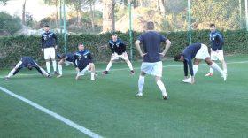 MECI AMICAL PANDURII TÂRGU JIU – FC ANZHI (ÎNCĂLZIRE JUCĂTORI)