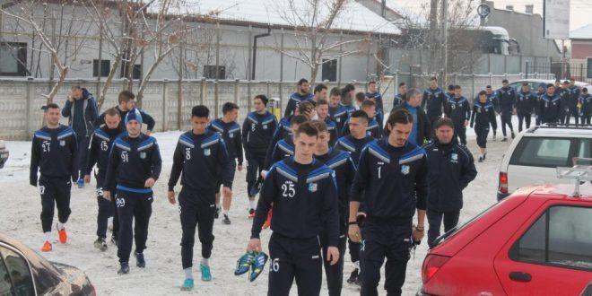 COMUNICAT / Lotul echipei Pandurii Târgu Jiu pentru cantonamentul de iarnă din Antalya va număra 26 de jucători