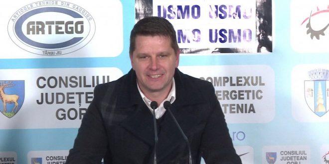 COMUNICAT / Clubul Pandurii Târgu Jiu anunţă rezilierea contractului cu antrenorul Flavius Stoican