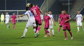 Pandurii Târgu-Jiu – CSM Politehnica Iași, scor  0-0 în etapa a II-a din  play out Liga I Orange