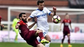 FOTO / IMAGINI MECI FC VOLUNTARI – PANDURII TÂRGU JIU, SCOR 1-1, ETAPA I PLAY OUT