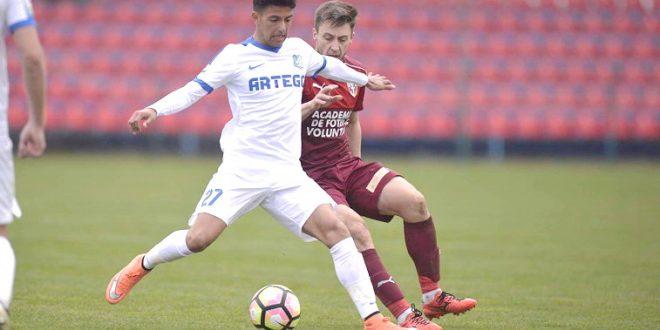 Yasin Hamed a înscris din nou pentru naţionala Under 18 ani a României în meciul amical din Israel