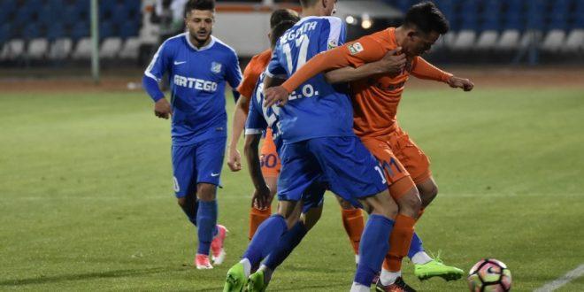 Pandurii Târgu-Jiu – FC Botoşani, scor  1 – 1, în etapa a 7-a din playout, Liga I Orange