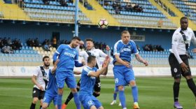 Gaz Metan Mediaş – Pandurii Târgu-Jiu , scor 3-1 în e tapa a  6 – a din playout, Liga 1 Orange