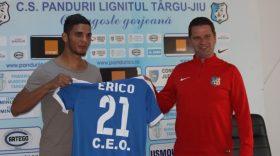 Erico Da Silva a fost prezentat oficial la Pandurii Târgu Jiu şi va putea evolua în meciul cu FC Voluntari