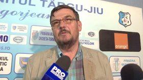 PANDURII TV / INTERVIU AL PREŞEDINTELUI USMO, MARIN CONDESCU, MECI PANDURII  TÂRGU JIU – GAZ METAN MEDIAŞ