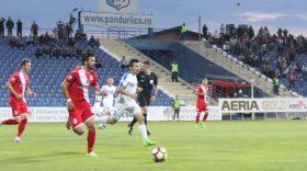 Pandurii Târgu-Jiu – Gaz Metan Mediaş, scor 0 – 0 în etapa a 13-a playout, Liga I Orange