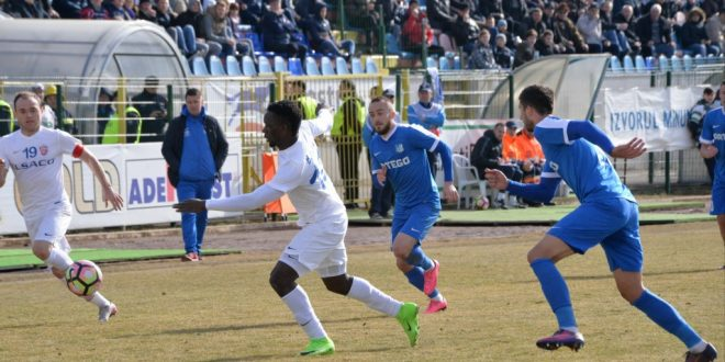 FC Botoşani – Pandurii Târgu-Jiu, scor  2 – 1 în etapa a 14-a din playout, Liga I Orange