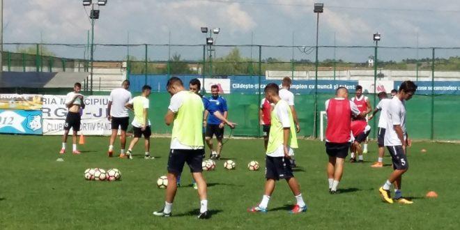 Pandurii Târgu Jiu va disputa joi primul meci de verificare din acest sezon