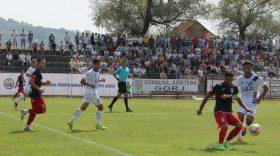 Etapa a 2-a, Liga a II-a: Pandurii  Târgu Jiu – Chindia Târgovişte, scor 3-3