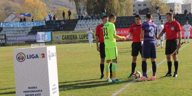 LIGA II / Etapa a 13-a: Pandurii Târgu Jiu – ASU Poli Timişoara, scor 1-0 la pauză