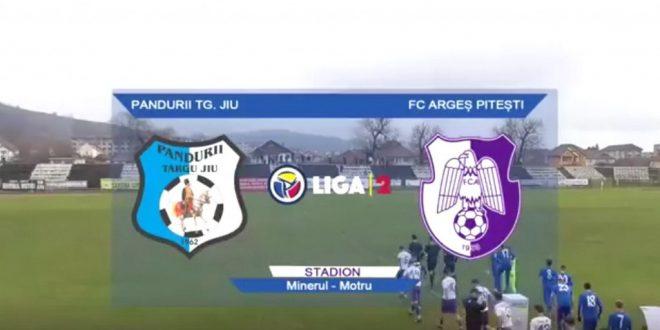 LIGA  2 CASA PARIURILOR  / Pandurii Târgu Jiu – FC Argeş, scor 1-5 în prima etapă a returului