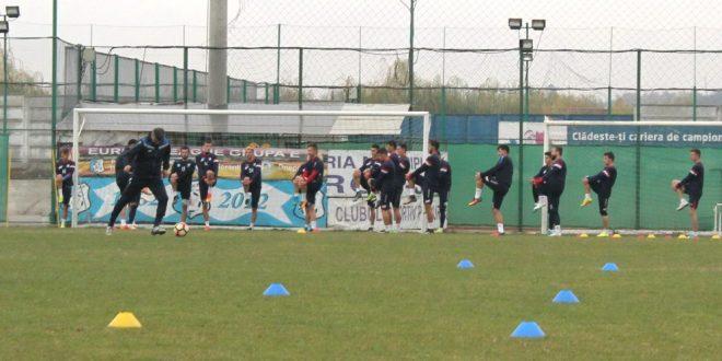 Jucătorii echipei Pandurii se vor reuni luni la Târgu Jiu pentru reluarea antrenamentelor