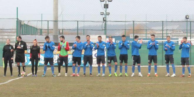 Pandurii Târgu Jiu s-a impus cu scorul de 4-0 în meciul amical cu Internaţional Băleşti