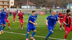 Pandurii Târgu Jiu  s-a impus cu scorul de 1-0 în meciul amical  cu CSM Şcolar Reşiţa