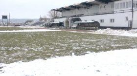 Pandurii Târgu Jiu şi Primăria Motru au deszăpezit terenul de la Motru pentru meciul cu Metaloglobus