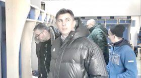 Ionuţ Lupescu a vizitat baza de antrenament, vestiarele clubului Pandurii şi noul stadion de la Târgu Jiu