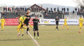 Pandurii Târgu Jiu s-a impus cu scorul de 2-1 în meciul cu CS Mioveni din etapa a 24-a a Ligii a II-a Casa Pariurilor