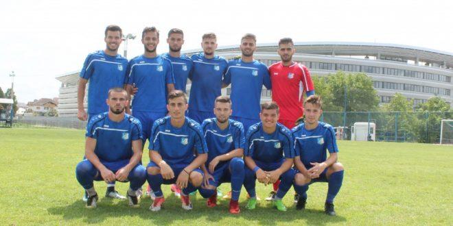 Pandurii Târgu Jiu s-a impus cu scorul de 2-0 în meciul amical cu CS Sporting Roşiori