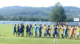 Pandurii Târgu Jiu s-a impus cu scorul de 1-0 în meciul amical disputat sâmbătă cu Flacăra Horezu
