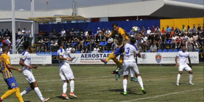 Pandurii Târgu Jiu s-a impus cu scorul de 1-0 în meciul de debut în noul sezon cu Aerostar Bacău