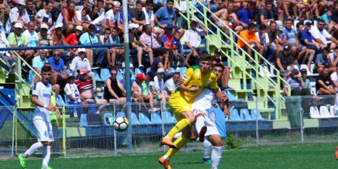 Pandurii Târgu Jiu s-au impus cu scorul de 2-0 în meciul cu CS Mioveni din etapa a patra a Ligii a doua Casa Pariurilor