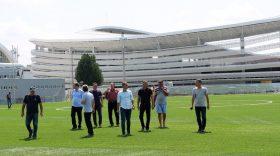 Comisia de omologare a inspectat terenul 2 sintetic și vestiarele în vederea omologării pentru meciuri din Liga a II-a