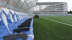 Federația Română de Fotbal a omologat azi terenul sintetic al echipei Pandurii  Târgu Jiu pentru disputarea meciurilor din Liga a II-a