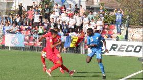 Pandurii Târgu Jiu a pierdut meciul din etapa a 13-a cu  CS Baloteşti