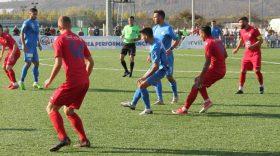 Pandurii Târgu Jiu a pierdut meciul din etapa a 14-a a Ligii a II-a Casa Pariurilor cu Luceafărul Oradea