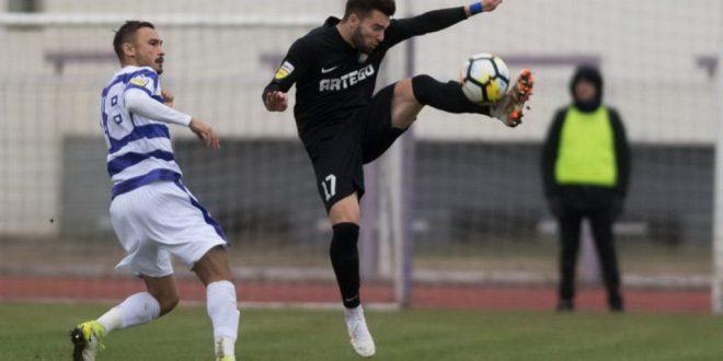 Pandurii Târgu Jiu a încheiat la egalitate, scor 1-1, meciul disputat în deplasare cu ASU Politehnica Timişoara