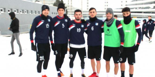Pandurii Târgu Jiu s-a reunit sâmbătă şi a reluat pregătirea pentru partea a doua a campionatului