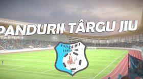 Gorjenii aşteaptă cu nerăbdare să vadă din nou Pandurii Târgu Jiu pe noul Stadion Municipal
