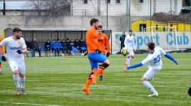 Pandurii Târgu Jiu a pierdut amicalul disputat în week-end cu Flacăra Horezu