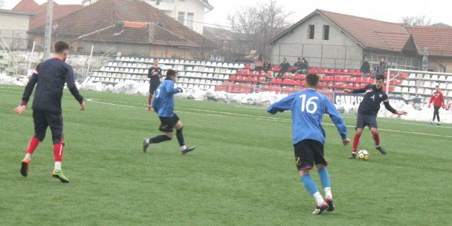 Pandurii Târgu Jiu s-a impus cu scorul de 1-0 în meciul amical cu CSO Filiaşi