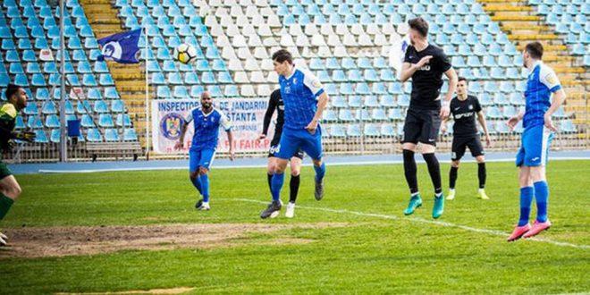 Pandurii Târgu Jiu a pierdut meciul din etapa a 25-a cu SSC Farul Constanţa