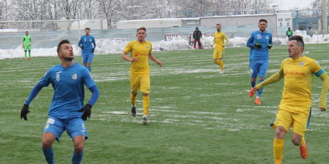Pandurii Târgu Jiu a pierdut primul meci oficial disputat în acest an, scor 0-2 cu Petrolul Ploieşti