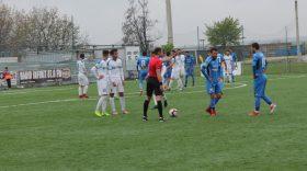Pandurii Târgu Jiu a pierdut meciul din etapa a 30-a a Ligii a doua Casa Pariurilor cu liderul Academica Clinceni